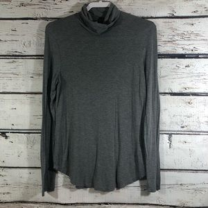 Old Navy Luxe gray turtleneck